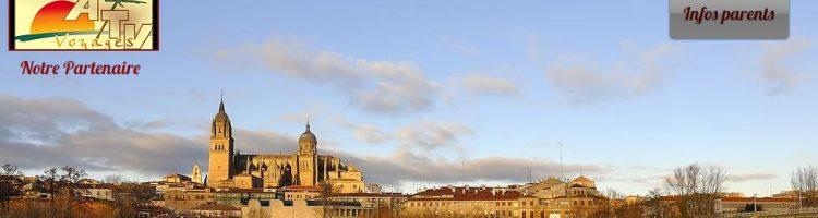 Voyage scolaire à Salamanca en mai 2017