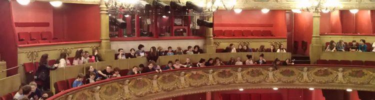 La 6ème8 à l'Opéra
