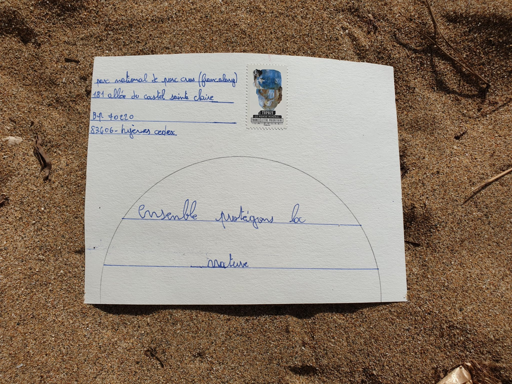 Mail Art Port Cros 2019 32