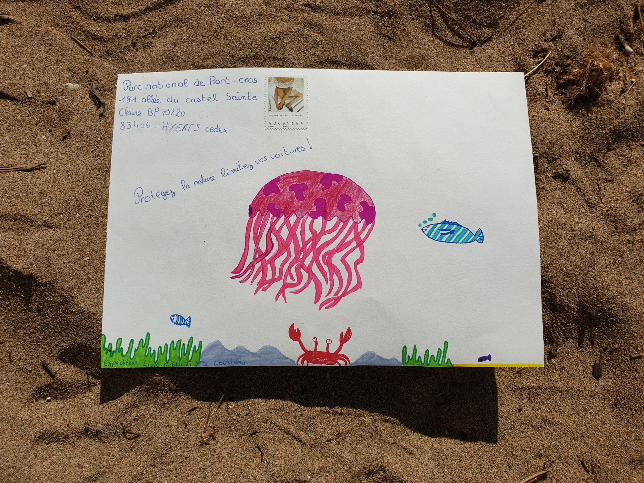 Mail Art Port Cros 2019 37